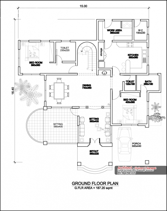 Fantastic Kerala Home Design Floor Plan - Homes Floor Plans Kerala Home Design Plans Pic