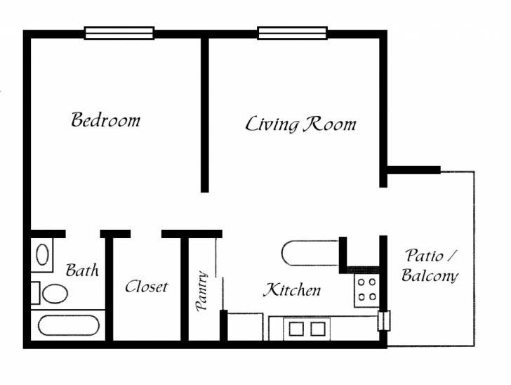 Fantastic Simple House With Floor Plan - Homes Floor Plans Simple House Plans Picture