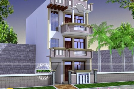 24 Ft Front House Design