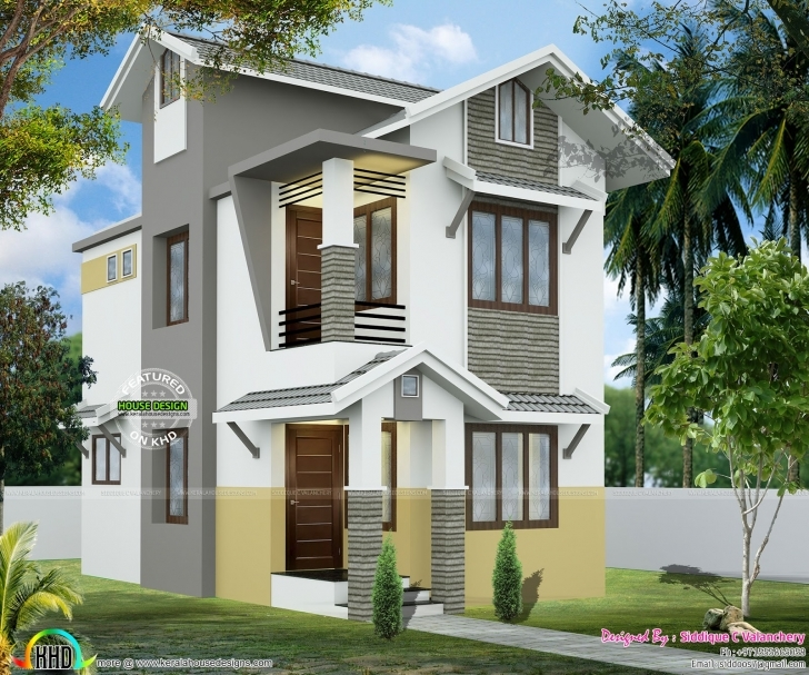 Fascinating 2 Cent House In 928 Sq-Ft - Kerala Home Design And Floor Plans Smol House 2Cent Photos Photo