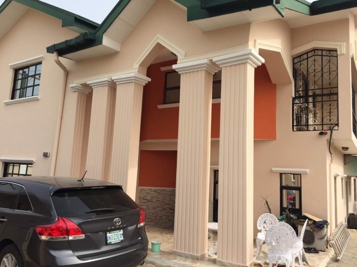 Fascinating 4 Bedroom Duplex With Half Plot Of Land @ Lafiaji Ikota, Lekki Duplex Designs On Half Plot Of Land Photo
