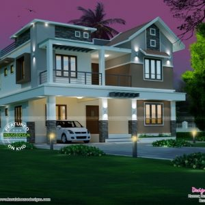 New House Plans 2017 Kerala