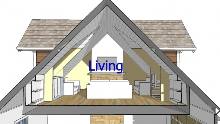 Fascinating Design An Attic Roof Home With Dormers Using Sketchup. Quick Roof Dormer Designs Photo