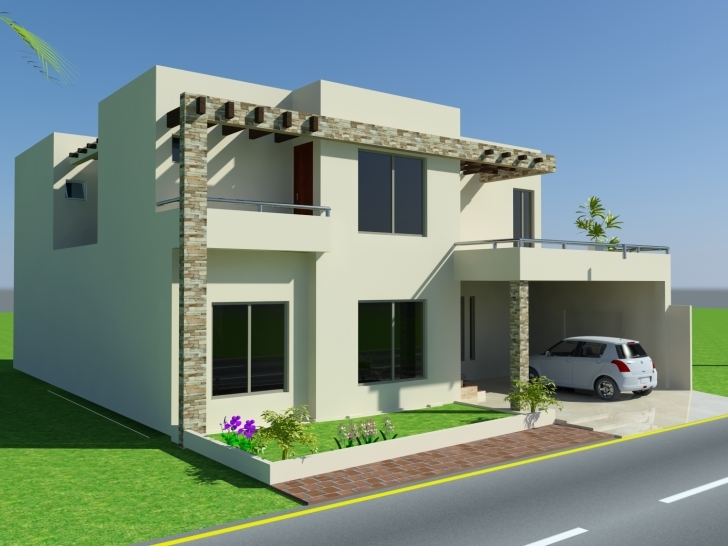 Fascinating Home Plan 7 Marla Best Of 3D Front Elevation 10 Marla House Design 7 Marla House Design Pakistan Photo