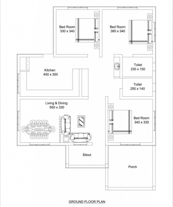 Fascinating Low Cost 3 Bedroom Modern Kerala Home Free Plan, Budget 3 Bedroom Low Cost Three Bedroom House Plans Pic