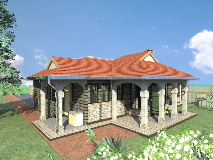 Fascinating Modern House Plan In Kenya Fresh 5 Bedroom Bungalow House Plans In 4 Bedroom Modern House Plans In Kenya Image