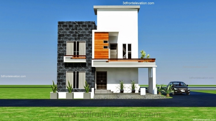 Fascinating Pin By Zaheer Altaf On Zaheer Altaf   Pinterest   Modern Front Elevation Of Houses Architecture Pic