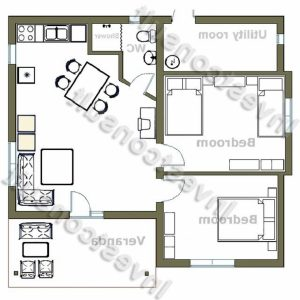 2 Bedroom House Floor Plans South Africa