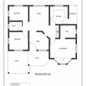 Simple House Plan With 3 Bedrooms Kerala