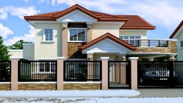 Good 2 Storey House Design With Floor Plan In The Philippines - Youtube Simple Filipino 2 Storey House Design Image