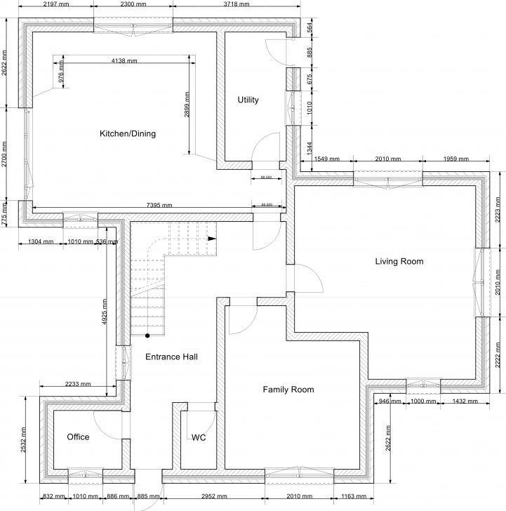 Good 2D Drawing Gallery | Floor Plans | House Plans 2D House Plan Photo