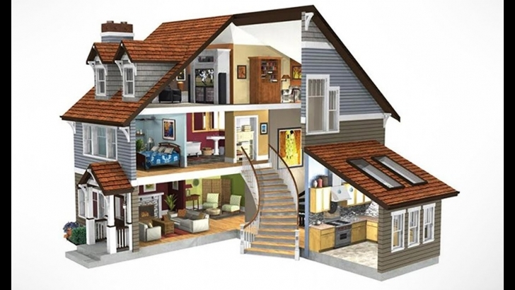 Good 3D Home Design   How To Design 3D Home In Illustrator !! Sweet Home Home Design 3D Photo