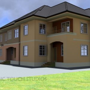 Four Bedroom Flat Design In Nigeria