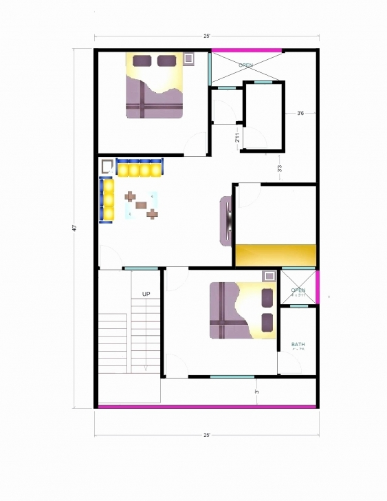Good 40 50 House Floor Plans Best Of 25 X India Home Ripping | Musicdna 25 40 House Plan India Pic