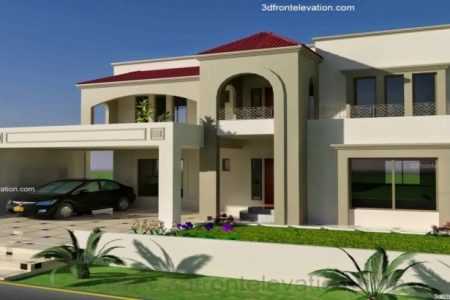 7 Marla House Design Pakistan