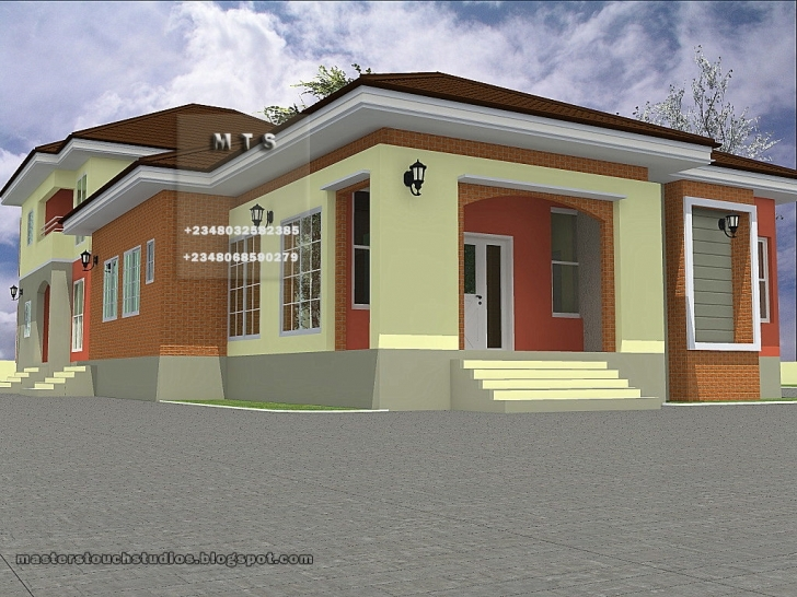 Good Download Pictures Of 4 Bedroom Bungalow House Plans In Nigeria Floor Plan Of A 3 Bedroom Bungalow In Nigeria Picture