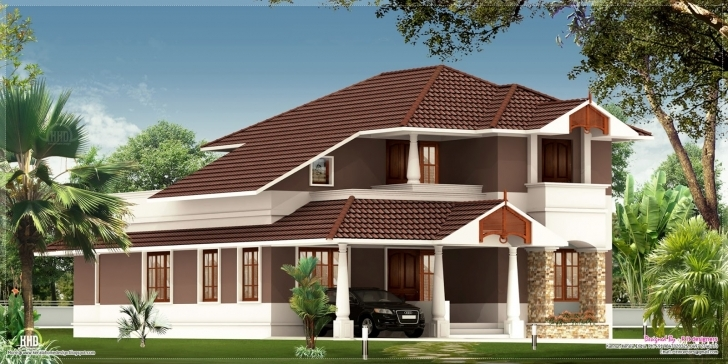 Good Eco Friendly Houses: 2100 Sq.feet House Exterior Design Pictures Of 2100 Sq Feet Image