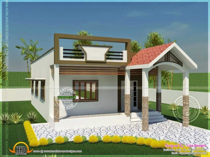 Good Fascinating Front Elevation Of Single Floor House Kerala Collection House Front Elevation Designs For Single Floor In India Photo