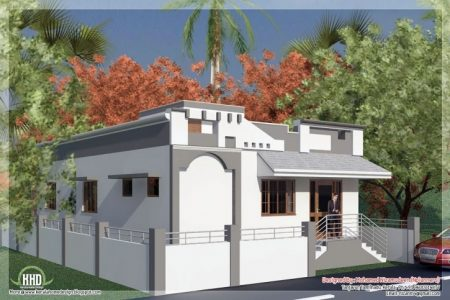 House Front Slab Design