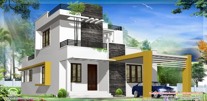 Good Modern Contemporary House Kerala Home Design Floor Plans - Home Nano Home Designs Image Image