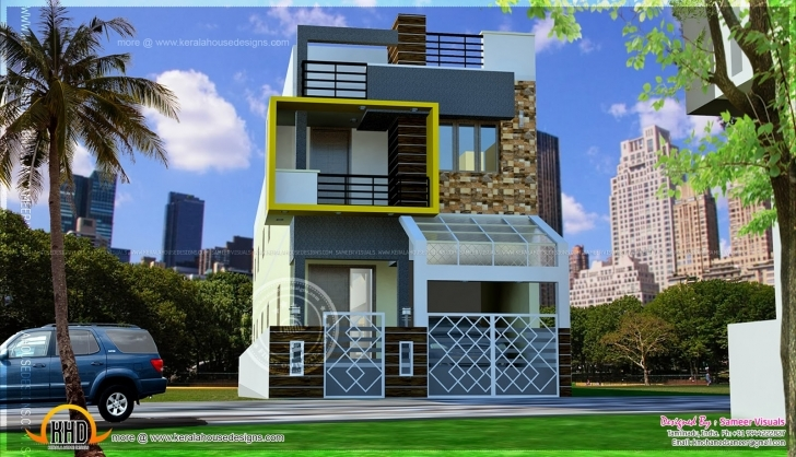 Good Modern Luxury South Indian Style House - Kerala Home Design And South Indian Small House Images Image