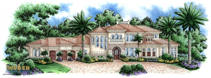 Good Tuscan House Plans: Mediterranean Tuscan Home Floor Plans Luxury Tuscan House Plans Pic