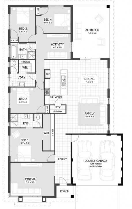 Gorgeous 2 Bedroom House Designs Australia Best 25 Contemporary House Plans 4 Bedroom Modern House Plans Australia Pic
