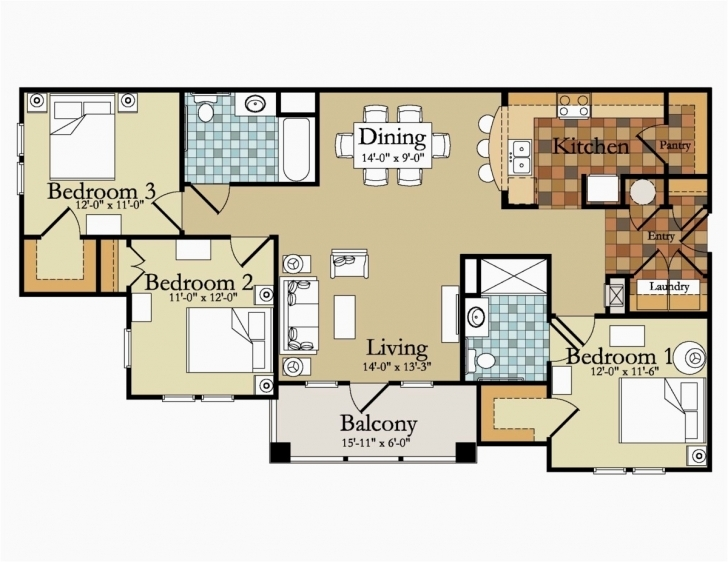 Gorgeous 3 Bedroom Floor Plans Ideas House Floor Plans Modern Home Bedroom 3 Modern 3 Bedroom House Floor Plans Pic