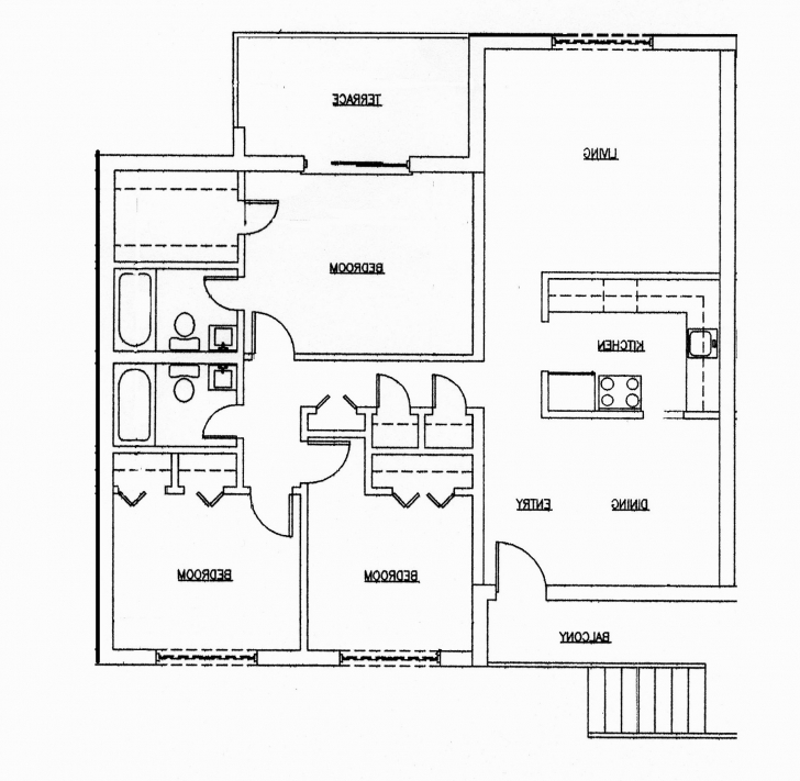 Gorgeous 3 Bedroom House Plans India (Photos And Video) | Wylielauderhouse 3 Bedroom House Plan In India Pic