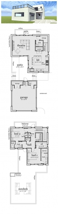 Gorgeous 76 Best House. Plan Images On Pinterest | Duplex Plans, House Design Front Elevation Plan #484-5 Image
