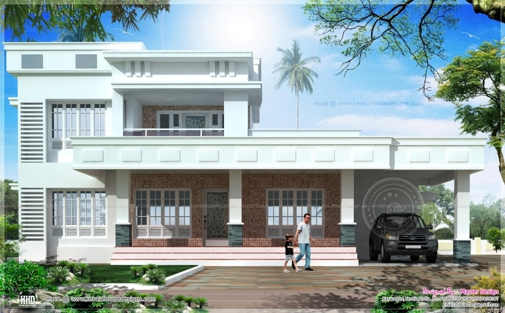Gorgeous Box Model East Face Vastu House Design Home Kerala Plans - House House Front Elevation Designs For Single Floor East Facing Picture