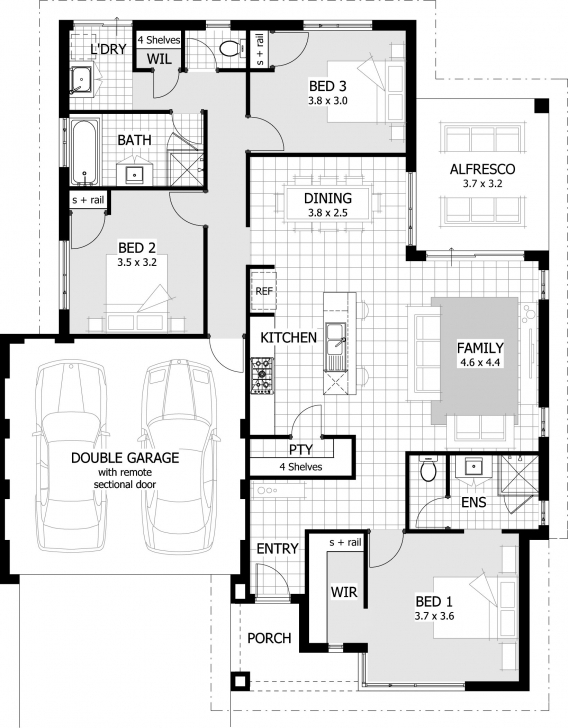 Gorgeous Exclusive Ideas 7 3 Bedroom House Plans Designs South Africa Also 3 Bedrooms House Plan Design South Africa Photo