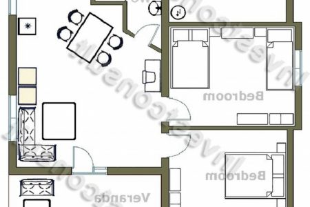 Floor Plan Of 2 Bedroomed House In South Africa