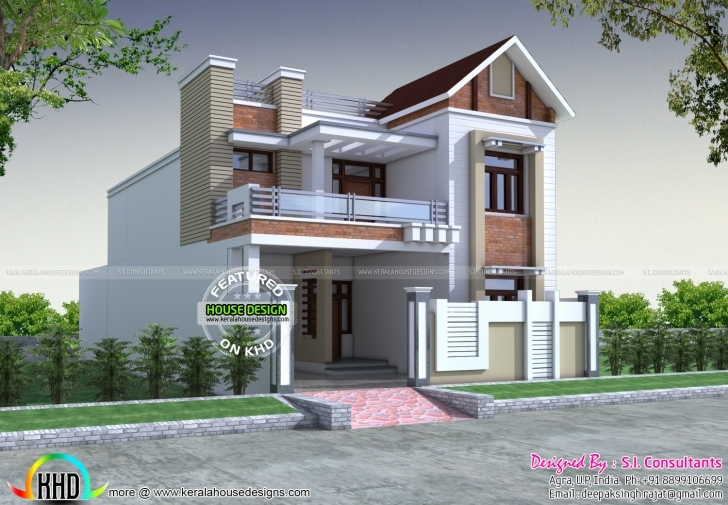 Gorgeous Front Decorative House Elevation | Kerala Home Design | Bloglovin' Front Elevation 30*30 Pic