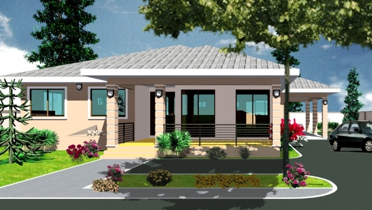 Gorgeous Ghana House Plans Krakye Plan - House Plans | #34119 Simple Ghana Houses With Plans Photo
