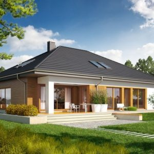 Small Single Storey House With Garage