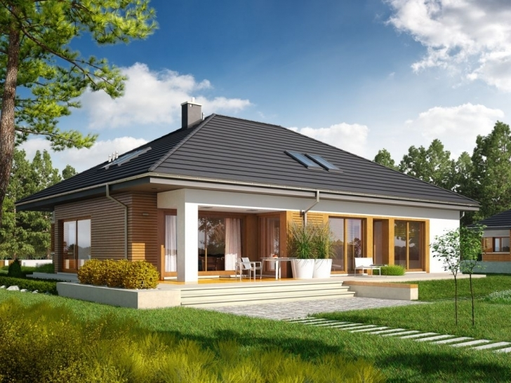 Gorgeous If You Planning To Have Small House , You Must See This Single Small Single Storey House With Garage Picture