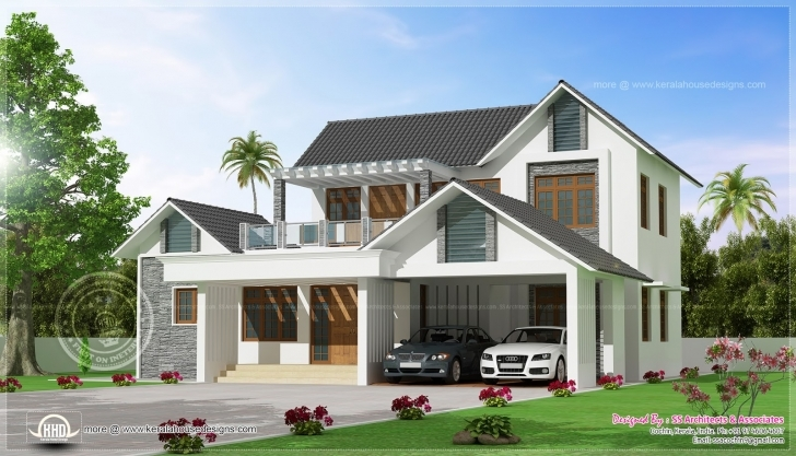 Gorgeous Kerala Modern House Plans And Elevations | Daily Trends Interior Kerala Modern House Plan And Elevation Picture