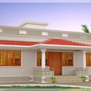 Kerala Model 750 Sq Veedu Design