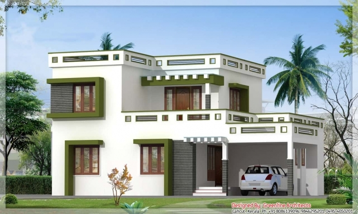 Gorgeous Latest Kerala Square House Design At 1700 Sq.ft Kerala House Design Photo