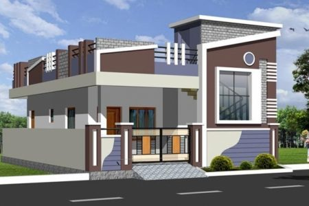 Small House Front Elevation Designs For Single Floor