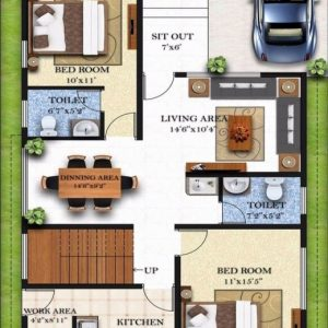17 By 50 Home Design