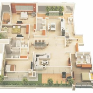 4 Bedroom Building Plans And Designs