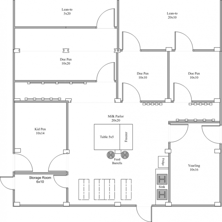 Great Apartments : Housing Of Sheep And Goats Goat Shelter Plans Goat Goat Housing Plans Pic
