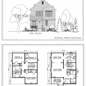 House Floor Plans Elevations