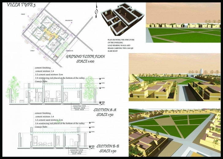 Great Archiprix Project: P15-2448 Economically Weaker Section Housing Plans Image