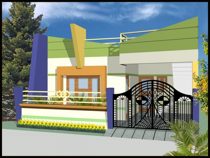 Great Can Have Front Elevation Indian Homes Single Story - Building Plans Indian Home Elevation Single Floor Picture