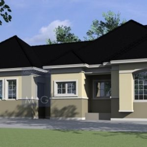 4 Bedroom Flat Bungalow Plan