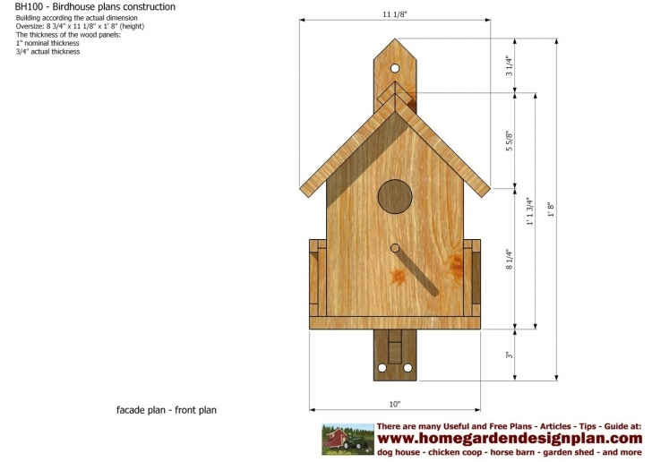 Great Decorative Bird House Plans Awesome Free Birdhouse Plans For Bird House Plans Picture