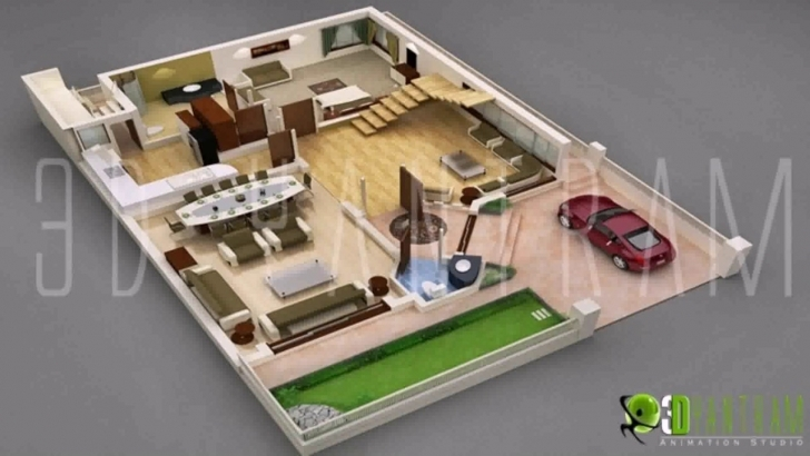 Great Home Design Plans Indian Style Modern Designs Plan Of Small 3D Small House Plans Indian Style 3D Image